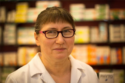 Miroslawa Pinschmidt - Apothekerin